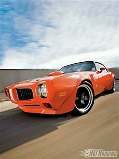 Trans Am in orange.....omg