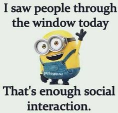 If i have to watch others on their phones at lunch, dinner, or a visit. I'll... - dinner, funny minion quotes, I39ll, lunch, Minion Quote, phones, Visit, watch - Minion-Quotes.com