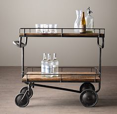 RH Warehouse Trolley Cart
