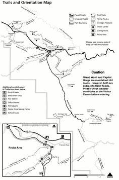 Image Result For National Parks Road Trip Map