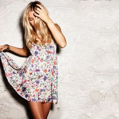 Babydoll Dress Floral / by Pencey Standard