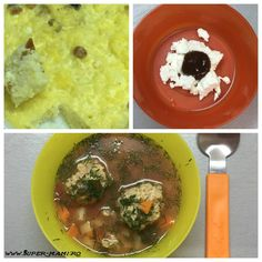 Ce mănâncă un bebeluş de zece luni - meniu pentru o săptămână - Super-Mami.Ro Quinoa, Broccoli, Sushi, Grains, Rice, Food, Essen, Meals, Seeds