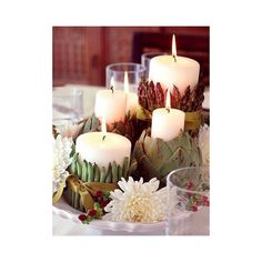 Thanksgiving Centerpieces ❤ liked on Polyvore featuring home, home decor, thanksgiving centerpieces and thanksgiving home decor