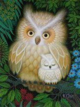 Drowsy Owl (by K Chin)