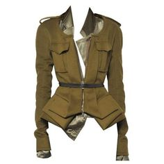 Veste haider ackermann ❤ liked on Polyvore featuring outerwear, vests, jackets, tops, vest waistcoat, brown vest, haider ackermann and brown waistcoat