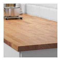IKEA - HAMMARP, Werkblad, 186x2.8 cm, , Gratis 25 jaar garantie. Raadpleeg onze folder voor de garantievoorwaarden.Berken heeft een mooie adering en een lichte kleur, met een satijnachtige glans die wat donkerder wordt als het hout ouder wordt. Berken heeft vaak crèmekleurige of lichtbruine knoesten of kernhout, wat het werkblad een fraai, natuurlijk uiterlijk geeft.Massief hout is een natuurproduct met een speciale uitstraling. Normale variaties in kleur, structuur en uiterlijk zijn o.a…