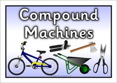 Worksheet What Is A Compound Machine simple and compound machines poster science ideas pinterest posters ps