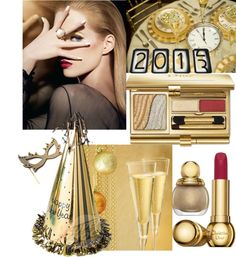 """Getting Gorgeous for New Year's Eve"" by alina-n ❤ liked on Polyvore"