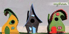 Originálne vtáčie búdky od nášho kutilského fanúšika Gaudi, Bird, Outdoor Decor, Home Decor, Decoration Home, Room Decor, Birds, Home Interior Design, Antoni Gaudi
