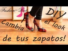 2 Ideas para renovar tu zapatos viejos! Dales una segunda oportunidad - YouTube