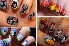 We can't resist this Disney nail art!