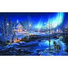 All is Bright jigsaw puzzle by SunsOut