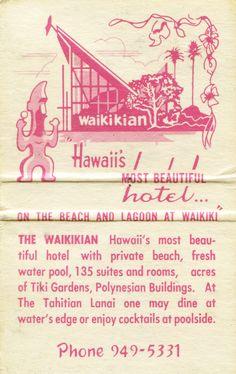 Waikikian Hotel | Flickr - Photo Sharing!