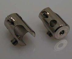 Klemmteil 90° Metall rund für Seilsystem 2er PackSeilsystem Seilset Seil System Seil SET