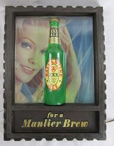 Vintage BALLENTINE ALE WALL LIGHT Beer Advertising, Bar or Man Cave #Ballentine