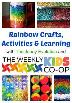 Rainbow Crafts and Activities. Perfect for Spring and St. Patrick's Day   The Jenny Evolution