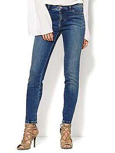 Soho Jeans - Legging - Driven Blue Wash - New York & Company