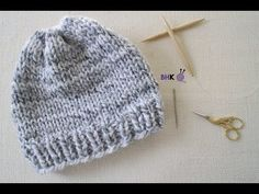 How to Knit a Hat for Complete Beginners - YouTube