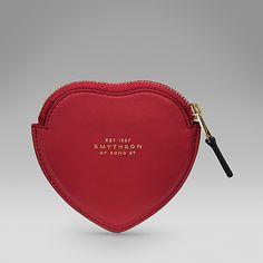 Heart Zip Coin Purse - Smythson