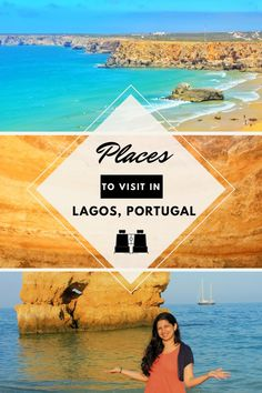 Places to visit in Lagos, Portugal Living In Europe, Portugal Travel, Turquoise Water, Algarve, Small Towns, Kayaking, Repeat, Places To Visit, Southern