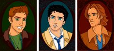Team Free Will as Disney princes