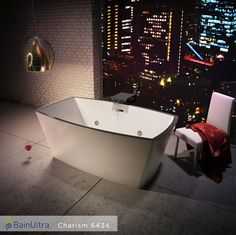 Beautiful Collection Of @BainUltra #freestanding #bathtubs That Reveal A  Vast Interior #bathing Space Where You Can Immerse Yourself To Experience U2026