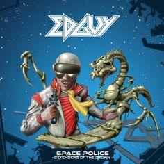 Edguy [Space Police - Defenders]. 2014. Artwork : Dan Franzier.