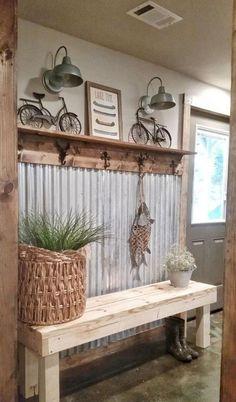 Insane Farmhouse Entryway Decor Ideas