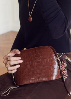 0f5508cae0 Les 13 meilleures images de SAC - CROCO | Beige tote bags, Fashion ...