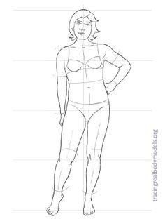 Real body croquis. realmodels-templates-0014