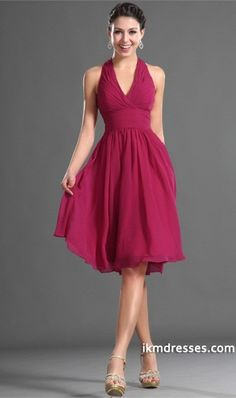 http://www.ikmdresses.com/2014-Halter-A-Line-Prom-Dress-Pleated-Bodice-Knee-Length-Chiffon-p84396