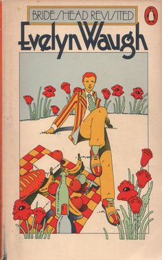 Brideshead Revisited //  Evelyn Waugh // Penguin // 1985 // cover design Peter Bentley