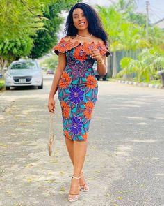 Latest Ankara Dresses, Ankara Short Gown Styles, African Wear Dresses, African Fashion Ankara, Latest African Fashion Dresses, African Print Fashion, Unique Ankara Styles, African Clothes, African Style