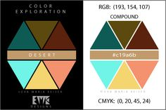 "Eva Maria Keiser Designs: Explore Color: ""Desert"" - Compound"