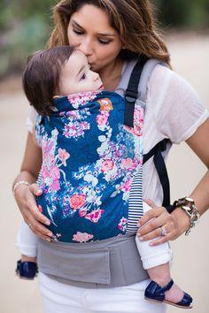 Tula | Flora Blue Ergonomic Baby Carrier