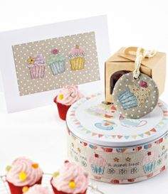 Cupcake en point de croix - Le blog de monde-creatif