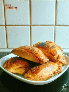 Pie Recipes, Biscotti, French Toast, Food And Drink, Favorite Recipes, Bread, Breakfast, Greek Recipes, Morning Coffee