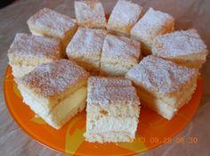 Klasszikus túró kocka recept: Nincs is jobb desszert egy könnyű és finom túró kockánál. Szoktam úgy is készíteni ,hogy nem teszek bele citromot,hanem összedarabolt őszibarack befőttet keverek a krémbe! Érdemes így is, és úgy is kipróbálni! :) http://aprosef.hu/turo_kocka_recept