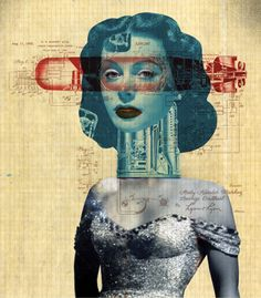 #WomensHistoryMonth :: Hedy Lamarr #illustration by Dave Plunkert
