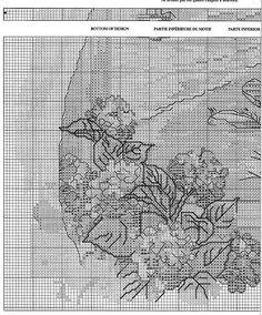 Solo Patrones Punto Cruz (pág. 202) | Aprender manualidades es facilisimo.com Cross Stitching, Cross Stitch Embroidery, Cross Stitch Patterns, Cross Stitch Sea, Cross Stitch Flowers, Cross Stitch Landscape, Ocean Scenes, Blue Cross, Needlework