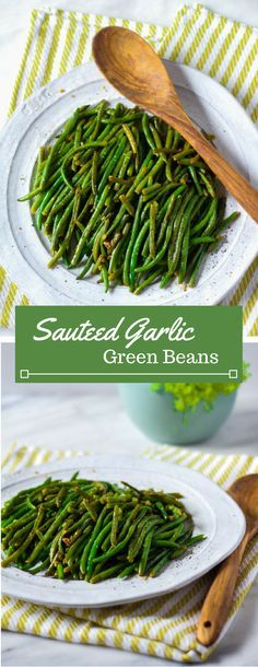 Fresh or frozen green beans are transformed into a garlicky and tender side dish. Serve alongside Italian pasta dinners or a juicy steak. To make these sauteed green beans, you'll only need 5 ingredients.