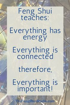 Feng Shui teaches that Everything is Important since Everything is Energy and Everything is Connected. You start to develop your house when you integrate this understanding and focus on all parts of your home. Feng Shui Studio, Feng Shui Art, Feng Shui Energy, Feng Shui Basics, Feng Shui Principles, Feng Shui Tips, Feng Shui Entryway, Feng Shui Bedroom, Everything Is Energy