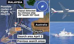 Chinese ship looking for missing Malaysia Airlines plane detects black box 'pulse signal' in southern Indian Ocean #DailyMail ~~Pinned by Cee April 5, 14
