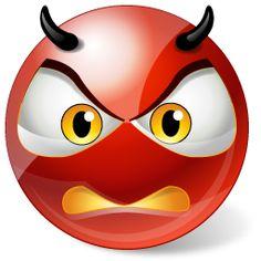 Emoticono cara de demonio: Puede utilizarse para comunicar diferentes cosas…