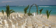 Ocean front ceremony at Majestic Elegance Punta Cana