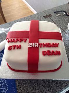 England birthday cake