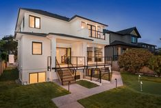 Wallmark Custom Homes have been building quality custom homes in the Greater Vancouver area since Contact us for a free, no obligation consultation. Model House Plan, House Plans, Villa Design, House Design, Vancouver, Conception Villa, Custom Built Homes, Dream House Exterior, Home Design Plans