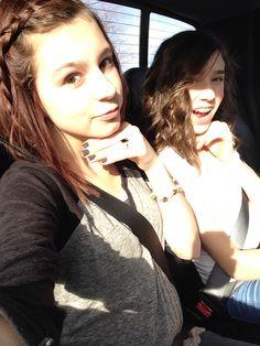 Selfies w/ friends||
