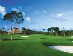 Golf in Cancun!  The Cancun Golf Club at Pok-Ta-Pok is the perfect location to play an 18 hole championship course and driving range.