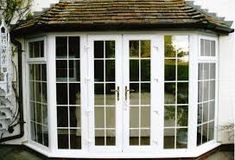 Image result for large bay window with doors uk image